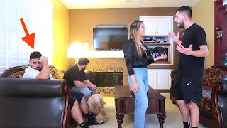 Download WE GOT IN A HUGE ARGUMENT IN FRONT OF OUR GUESTS! *AWKWARD* Video
