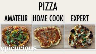 Download 4 Levels of Pizza: Amateur to Food Scientist   Epicurious Video
