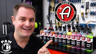 Download ADAM'S POLISHES DETAILING PRODUCTS: BRAND REVIEW !! Video