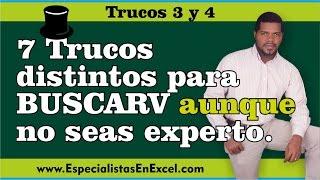 Download 7 Trucos distintos para BuscarV aunque no seas un experto - Trucos 3 y 4 Video