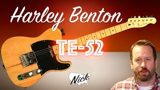 Prince Tele Copy Harley Benton Te-80 NT Deluxe review Free Download
