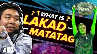 Download What is Lakad Matatag? The Filipino Meme that Helped OG Win The International Video