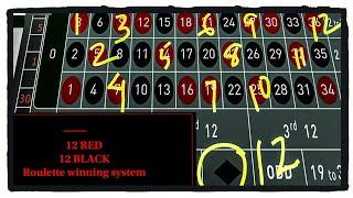 Download STEVE PACKER 12 RED/12 BLACK Roulette System Video