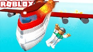Download JUMP TO SURVIVE A PLANE CRASH IN ROBLOX Video