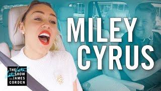 Download Miley Cyrus Carpool Karaoke Video