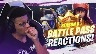 Download BUYING EVERY TIER! SEASON 6 BATTLE PASS REACTION (Fortnite BR Patch 6.0) Video