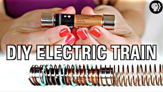 Download World's Easiest DIY Electric Train Video