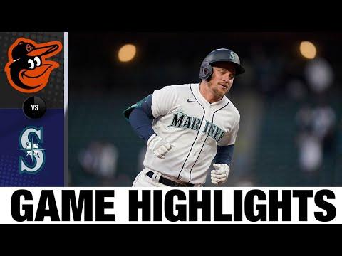 Orioles vs. Mariners Game Highlights (5/4/21) | MLB Highlights
