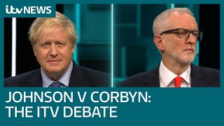 Download Johnson v Corbyn: The ITV Debate | ITV News Video