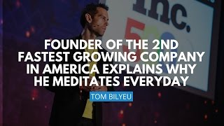 Download Founder Of The Second Fastest Growing Company In America Explains Why He Meditates Everyday Video