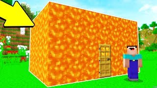 Download TURNING A HOUSE INTO LAVA PRANK.. (MINECRAFT TROLL WARS #4) Video