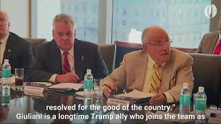 Download Rudolph Giuliani To Assist With Donald Trump's Legal Woes Video