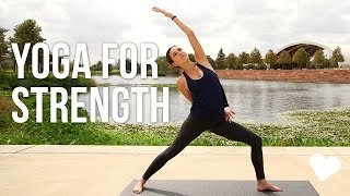 Download Yoga For Strength - 40 Minute Vinyasa Sequence Video