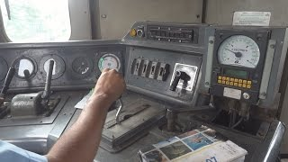 Download [IRFCA] Indian Railways Alco WDM3D Loco Cab Ride at 110 KMPH, Loco Pilot Operating the Loco Video
