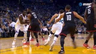 Download Draymond Green delivers cheap shot to James Harden's injured wrist Video