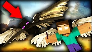 Download REALISTIC MONSTER SCHOOL 2 - LEARNING TO FLY IN MINECRAFT ANIMATION Video