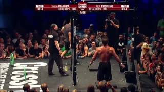Download CROSSFIT OPEN 13.5 Jason Khalipa vs Rich Froning Video