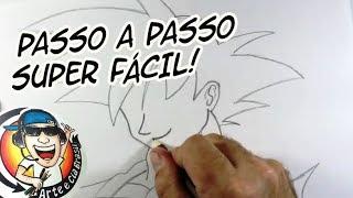 Download COMO DESENHAR O GOKU SUPER FÁCIL - PASSO A PASSO Video