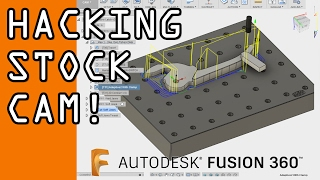 Download Fusion 360 - Creative CAM Stock Selection Tips! FF69 Video