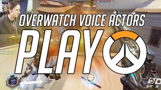 Download THE VOICES OF MCCREE, WINSTON & LUCIO PLAY OVERWATCH!! Video