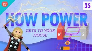 Download How Power Gets to Your Home: Crash Course Physics #35 Video