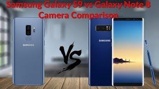 Download Samsung Galaxy S9 vs Galaxy Note 8 Camera Comparison Is It A Big Improvement? - YouTube Tech Guy Video