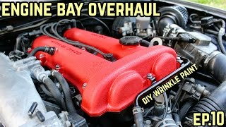 Download ENGINE BAY OVERHAUL! : MX-5 Miata NA Drift Build Ep.10 Video