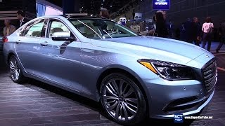 Download 2018 Genesis G80 Luxury - Exterior and Interior Walkaround - 2016 LA Auto Show Video