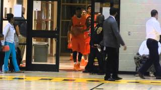 Download Teams entrance Poly/St. Frances basketball 12/18/13 Video