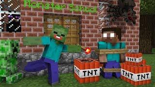 Download Monster School: SEASON 2 ALL EPISODES - Minecraft Animation Movie Video