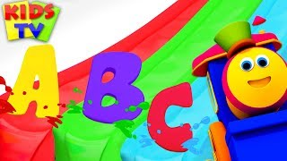 Download Learn ABC with Color Magic Slide | Bob Fun Series for Kids | Preschool Learning Videos Video