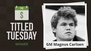 Download Titled Tuesday Blitz Chess Tournament: Magnus Carlsen Dominates! Video