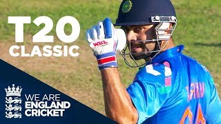 Download T20 Classic Goes Right Down To The Wire | England v India 2014 - Highlights Video