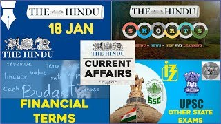 Download CURRENT AFFAIRS | THE HINDU | 18th January 2018 | UPSC,IBPS, RRB, SSC,CDS,IB,CLAT Video