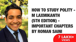 Download How To Study Polity - M Laxmikanth (5th edition) - Important Chapters By Roman Saini Video