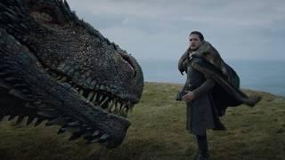 Download Джон Сноу погладил дракона Дейнерис Video