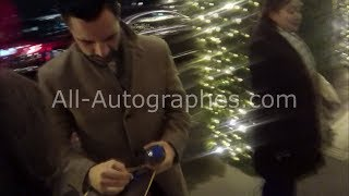 Download Danny Pino signing autographs in Paris Video