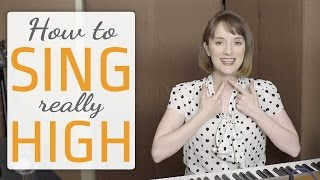 Download How to sing really high - Voice lesson on how to sing higher Video