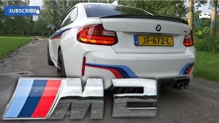 Download BMW M2 M Performance Akrapovic Exhaust Sound LOUD! Startup & Revs Launch Control Flyby Tunnel Video
