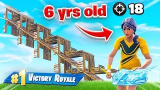 Download This 6yr old is BETTER THAN NINJA at Fortnite Battle Royale! Video