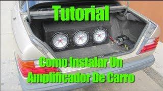 Download Tutorial: Como Instalar Un Amplificador De Carro Video