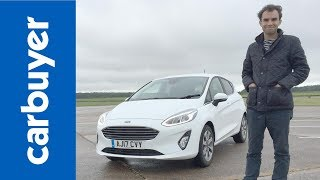 Download 2018 Ford Fiesta Mk8 hatchback review - James Batchelor - Carbuyer Video