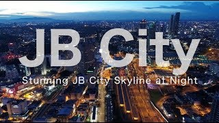Download Stunning Night View in Johor Bahru City - May 2018 Video