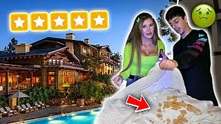 Download Staying at the BEST REVIEWED HOTEL in my City! (we found this...) Video