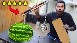 Download I Bought The BEST Rated WEAPONS On Amazon!!!! (5 STAR) Video