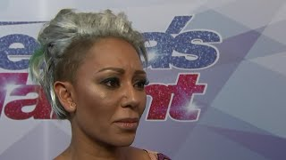 Download Mel B storms off 'America's Got Talent' set Video