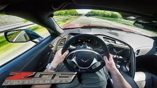 Download Corvette Z06 ACCELERATION POV on AUTOBAHN 702HP by BBM Motorsport Video