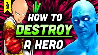 Download Watchmen vs. One Punch Man: How To Destroy A Hero (Satire vs. Parody) – Wisecrack Edition Video