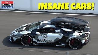 Download Koenigsegg CCX, Novitec F12 N-Largo S, Huracan Performante, AMG GT R at SUPER CAR SUNDAY ZANDVOORT! Video