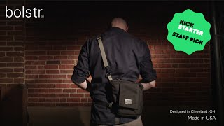 Download bolstr - The Ultimate EDC Bag. Minimal and Perfectly Sized. A Kickstarter Project. Video